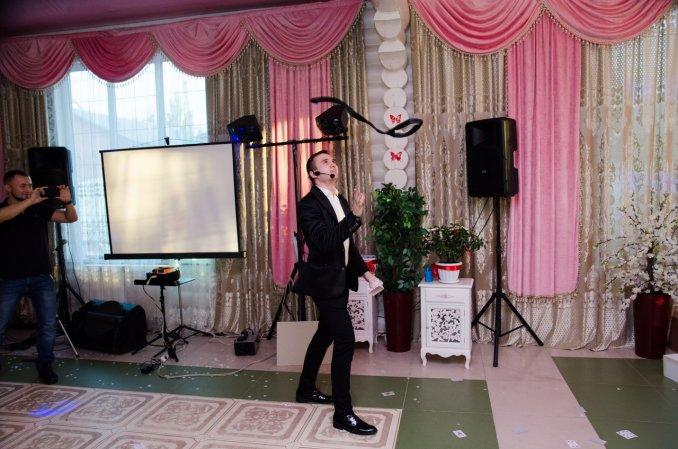 Фокусник Анатолий Корякин, свадьба