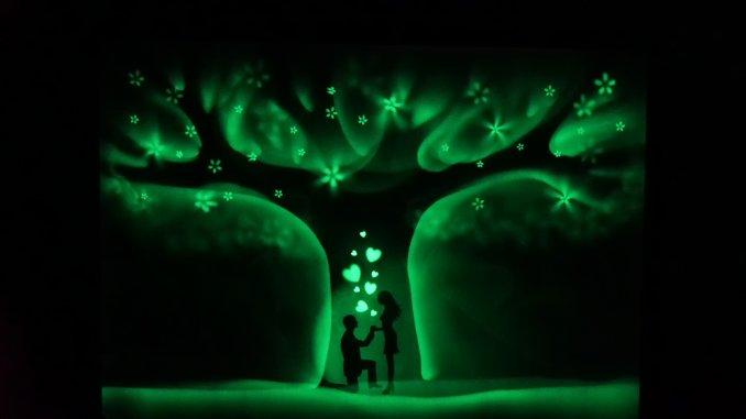 шоу Световых Картин (фосфорное шоу)