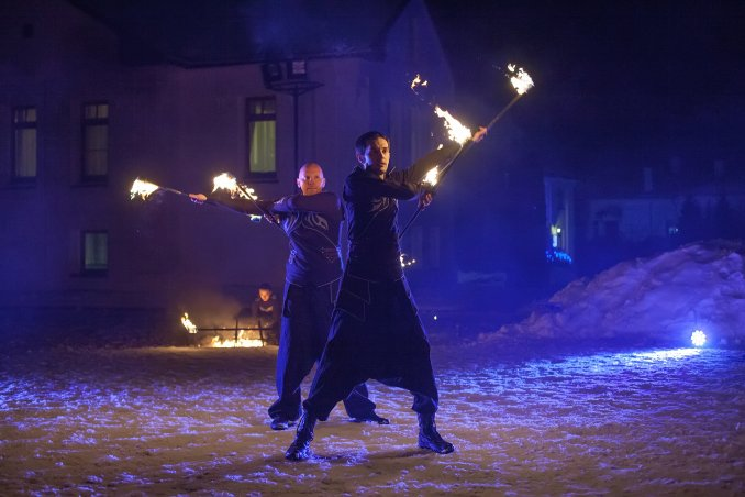 Огненное шоу (фаер-шоу)