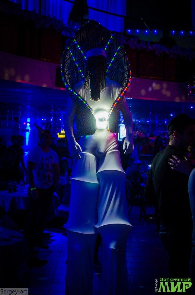 светодиодные фрики ходулисты