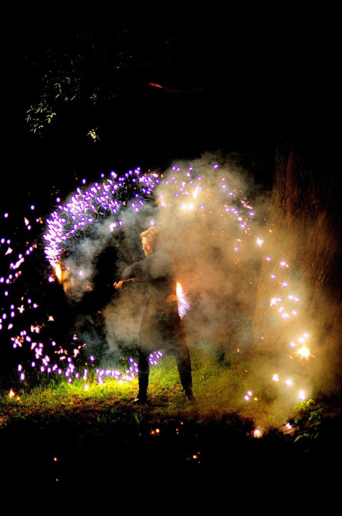 Огненное шоу, фото с площадок