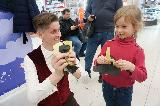 Фокусник на детский праздник в СПб. Майкл Назаров.