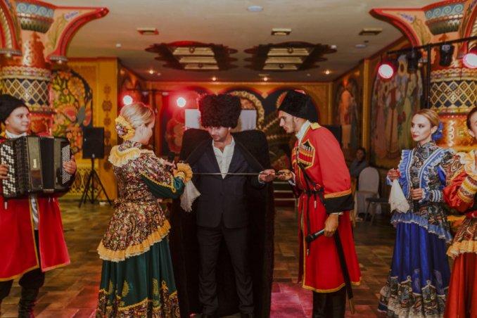 Фольклорный ансамбль «Любо-Мило» на юбилей  Москва