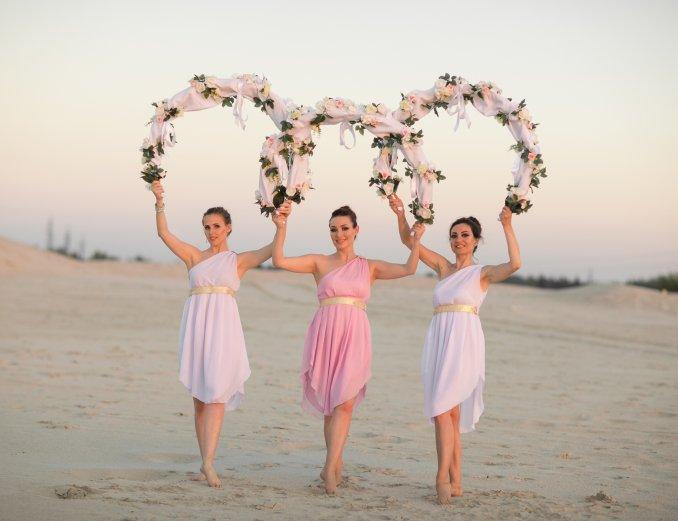 Украшение свадебного танца!