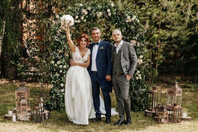 Свадьба на реке Волга. Женя + Лёша