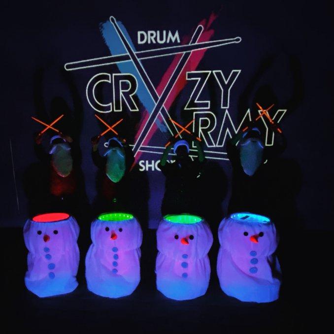 Crazy Army Drum Show