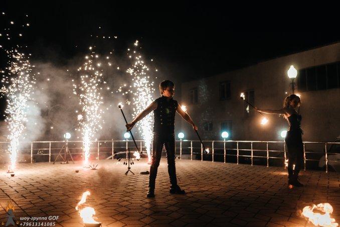 Огненное фаер шоу