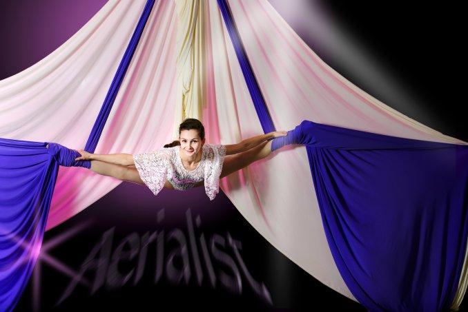 Воздушная гимнастка