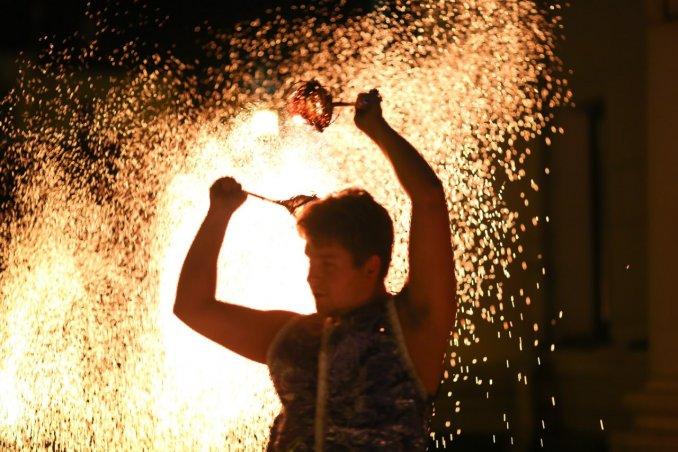 Огненно-искристое шоу Арабская ночь