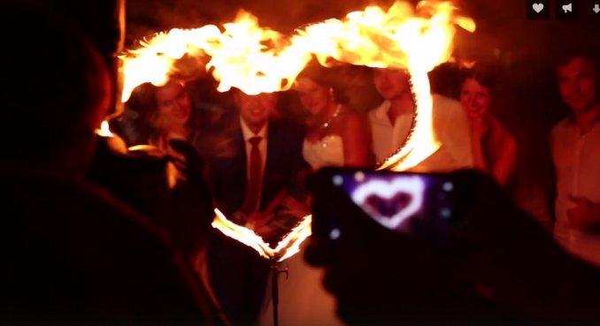 Огненное и световое шоу в Казани