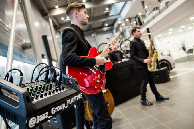 Джаз группа Playtime с музыкальной программой на мероприятии