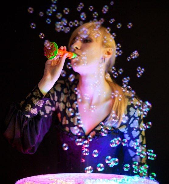 Шоу мыльных пузырей от Таи Лисовой