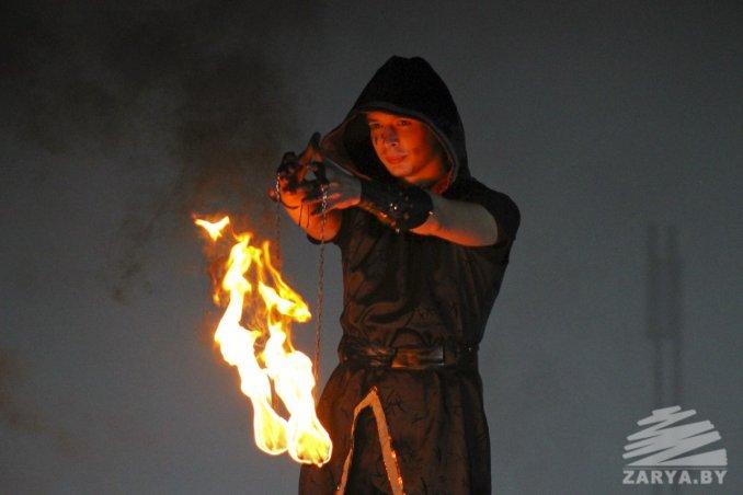 Огненно-пиротехническое шоу «Этника»