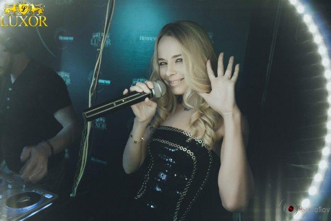 Юля Панфилова - певица и ведущая