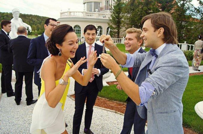 Свадебное торжество в семье депутата с участие иностранных гостей