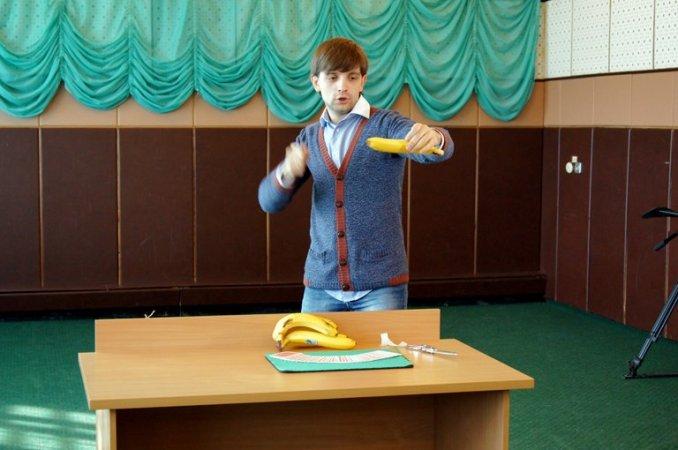 Благотворительный детский мастер-класс при участии банков и ТВ
