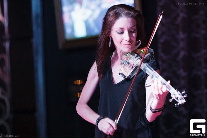 Шоу электро скрипка