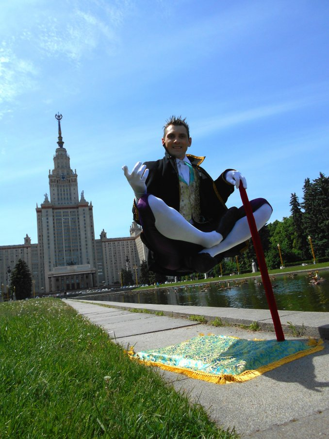Летающий фокусник Valery Davydov