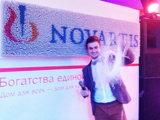 Корпоратив Novartis. Ведущий Владимир Строжук