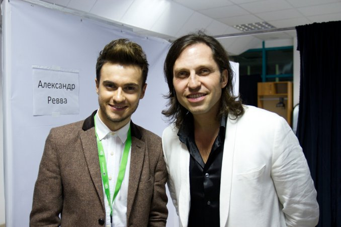 Александр Ревва и Владимир Строжук в Казахстане