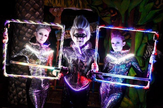 Световое шоу Silver Dreams от Pulsar