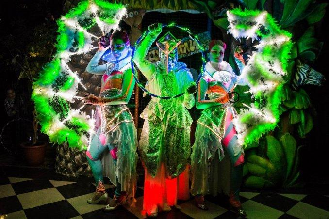 Световое шоу Angels L.O. от Pulsarshow