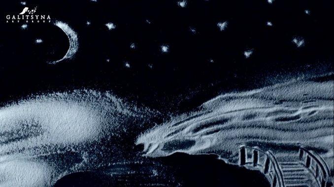 """Шоу """"Рисование снегом"""""""