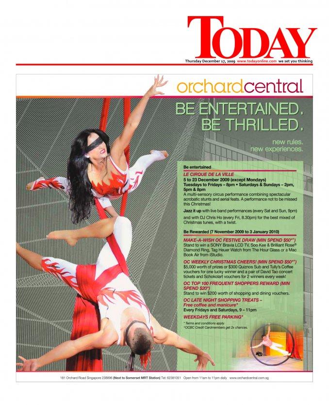 Le Cirque de la Ville, Singapore