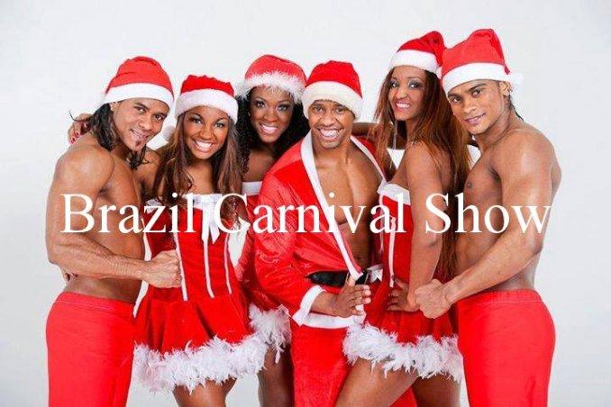 Бразильское шоу на Новый год, корпоратив
