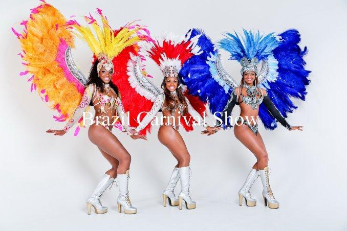 Бразильское шоу антре перья