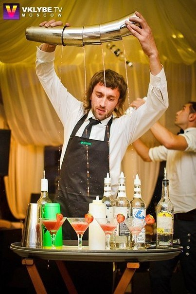 бармен шоу