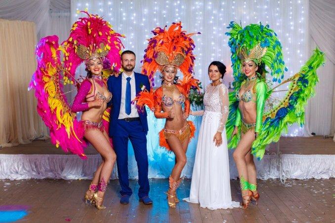 Бразильское шоу на свадьбу