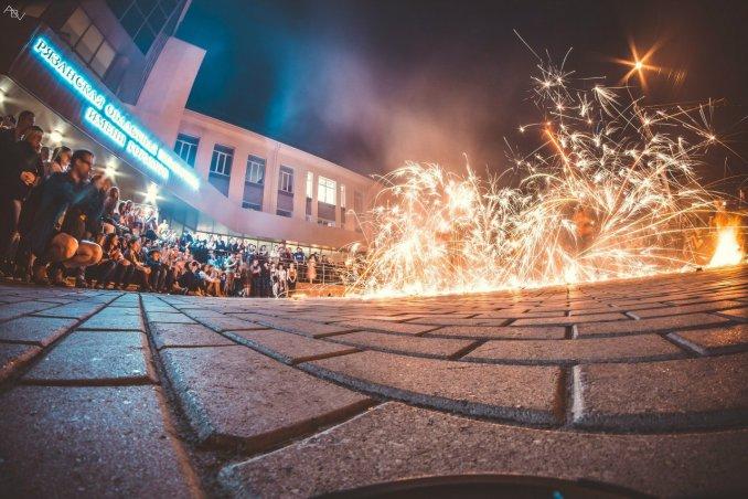Фаер шоу Flame Art