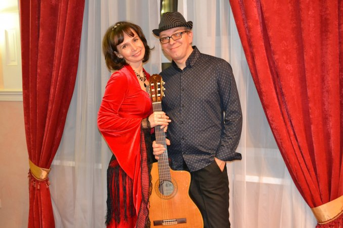 Анна Шибкова и Анатолий Ядрышников