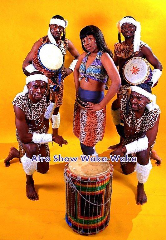 Шоу Африканских Барабанщиков WAKA-WAKA