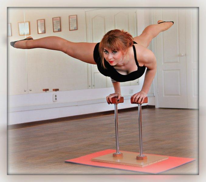 Эквилибристика, акробатическое представление