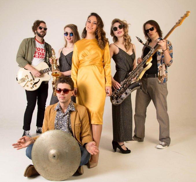 Зажигательная группа The Uncle Dance (funk, disco, rock-n-roll)
