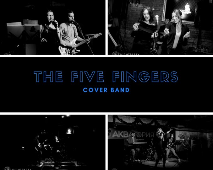 THE FIVE FINGERS COVER BAND