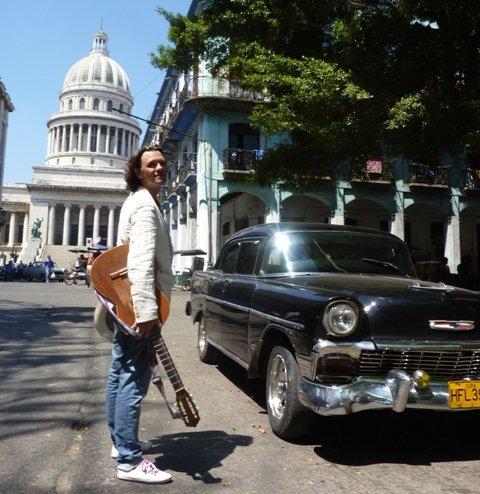 Гитарист Leonid IO Spanish Guitar master