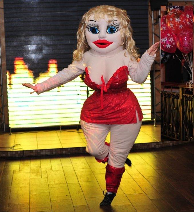 Ростовая кукла-женщина Эммануэль