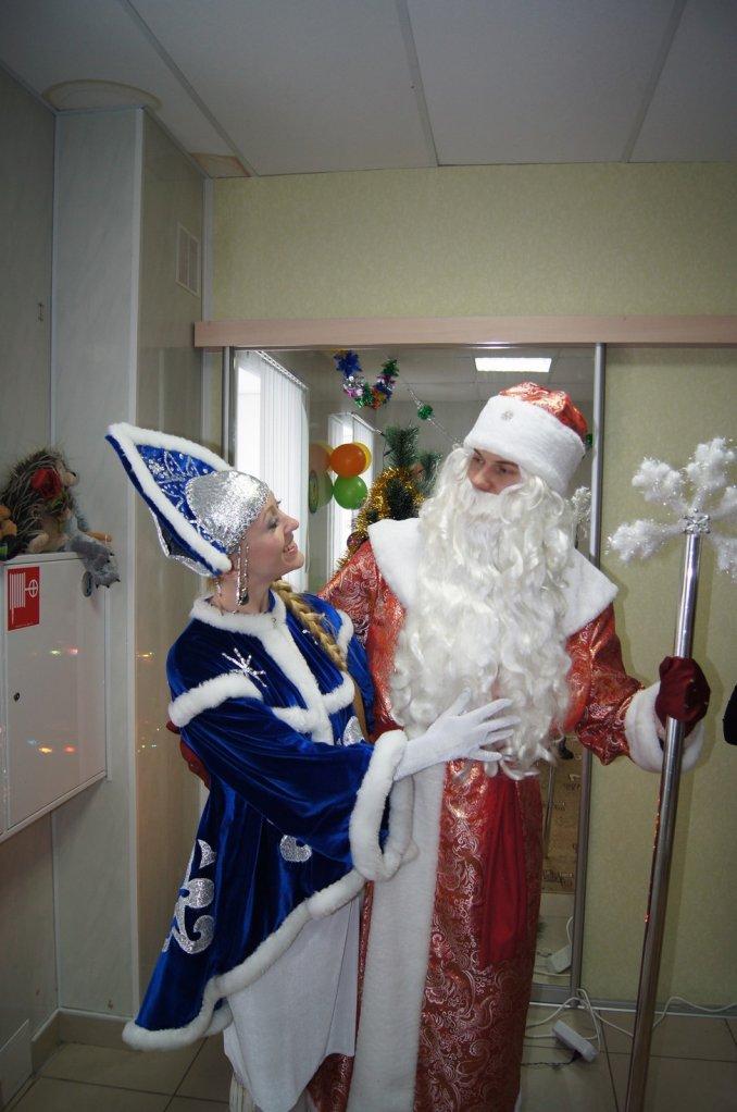 Дед Мороз-Морозко и Снегурочка