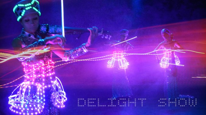 скрипичное шоу Delight