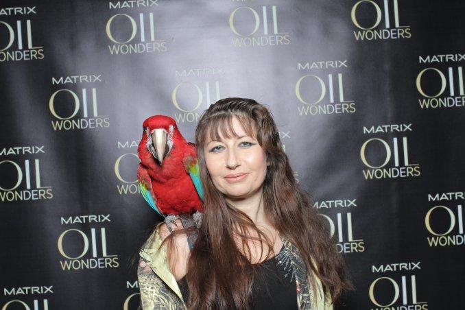 Шоу крупных попугаев