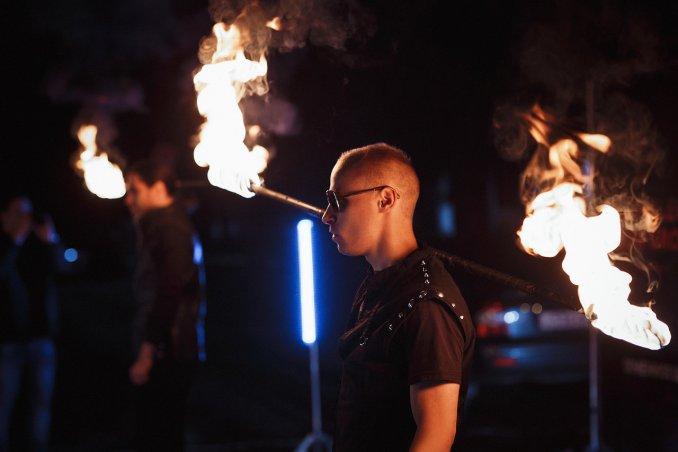 Огненное шоу от Сhameleon Show Group