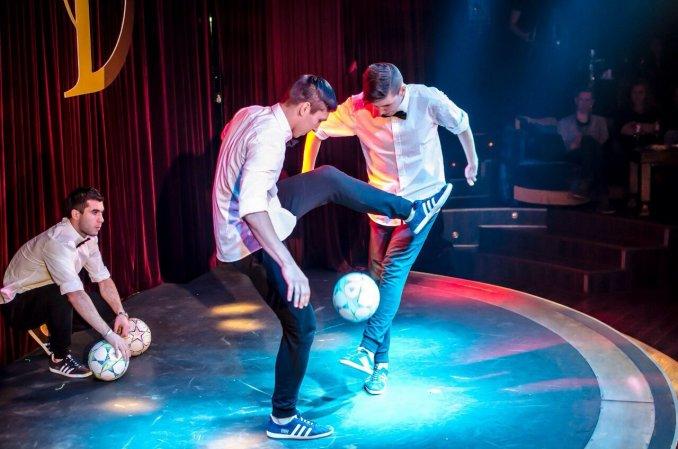 EKBFF - Шоу футбольного фристайла