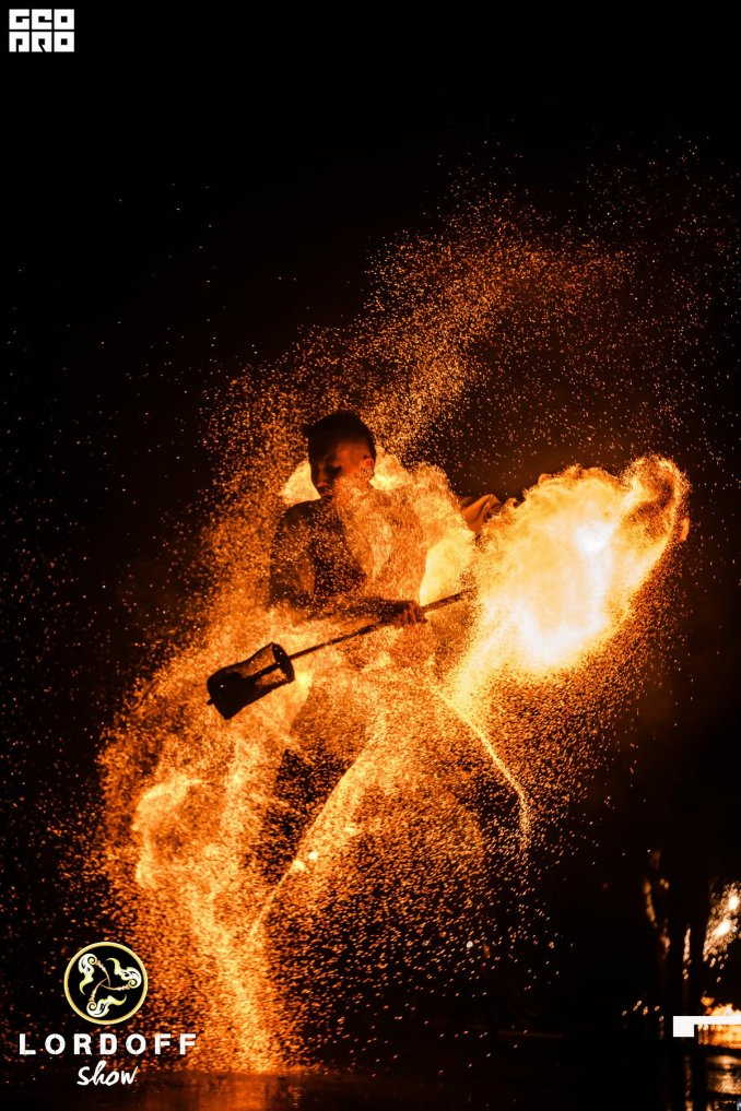 Огненное | Световое Шоу Lordoff