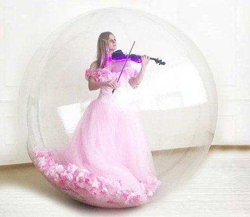 Скрипичное шоу в воздушной сфере-Violin Project